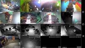 Paket Cctv 4 Channel 3Mp Paket Cctv 4 Kamera 3Mp