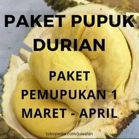 Pupuk Durian Paket 1 Pertumbuhan Daun & Tunas