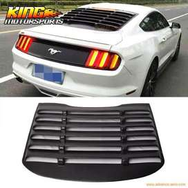 Ford Mustang rear window louver