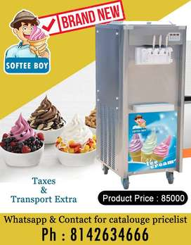 Soft serve softy IceCream Machine