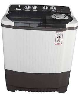 lg washing machine of 7.5 kg in good condition