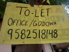 Space for rent of office/godown