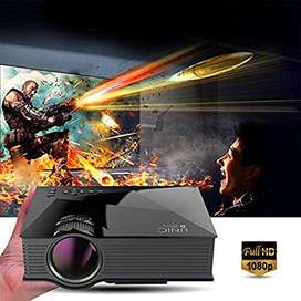 100inch WIFI LED HD Projector Watch TV YouTube Movies on Big Screen