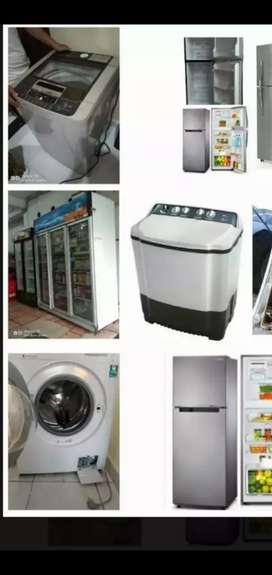 Jasa Service Mesin cuci, TV, Pompa Air,Kulkas,AC, Kompor, Water heater