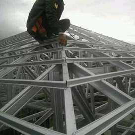 Jual pasang rangka atap bajaringan