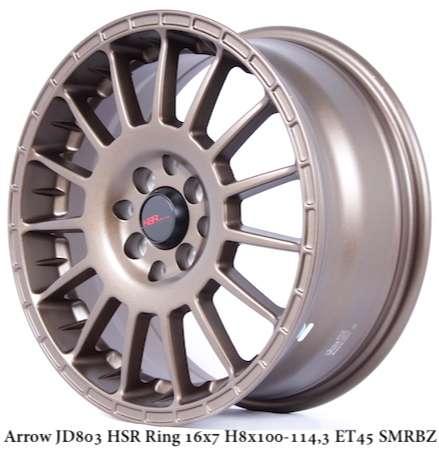 Velg Racing HSR ARROW R16 lebar 7 Buat Mobil Avanza,Freed,Mobilio 0
