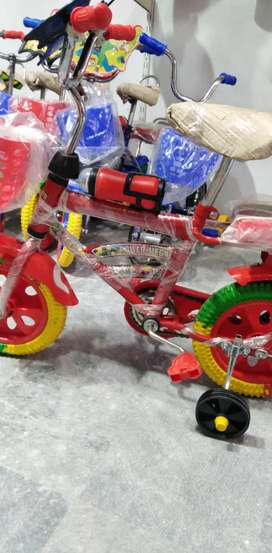 Bicycles, tricycle, walker, pram, battery car & other kids items