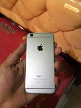 Iphone 6, memory 64gb mulus fullset