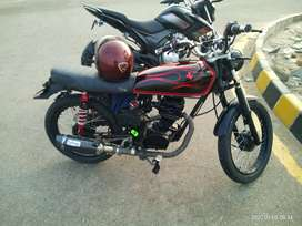 RS 85000 .HoNDA CG 125 1990 Modified cafe racer style