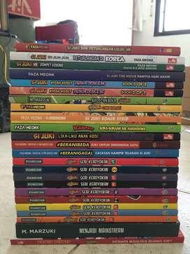 Jual komik si juki 24 judul, bekas terawat, dijual borongan