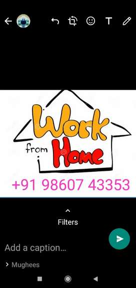 Hand writing job and data entry work from home