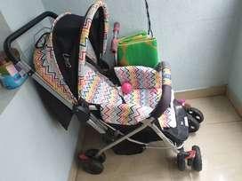 Mee Mee Pram/Stroller in very good condition