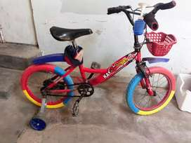 Big  bicycle for 5 year kid in good condition