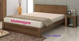 modern Designer Bed with dressing ( khawaja's Fix price shop