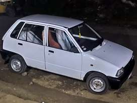 Maruti 800 with lpg ..rc endorced. Nice and clean car. 4 new tyre,