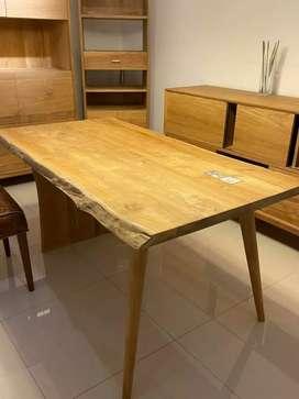 Meja Makan kayu jati meja jati meja makan dinning table dining table