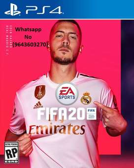 Latest PS4 Games Available FIFA 20,Modern Warfare ,Spiderman,Days Gone