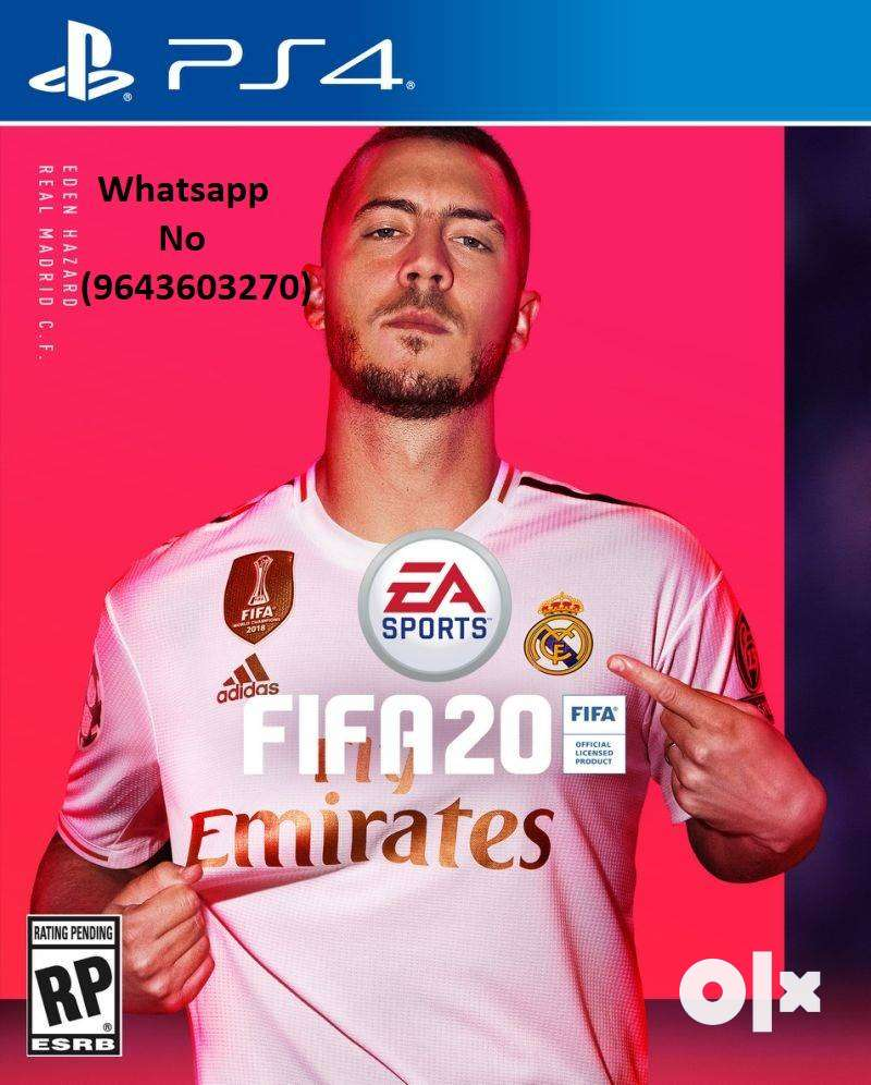 Latest PS4 Games Available FIFA 20,Modern Warfare ,Spiderman,Days Gone 0