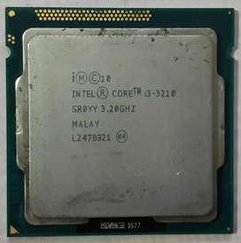 Intel i3 3rd gen CPU Processor