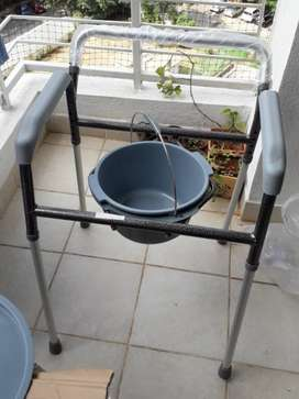 brand new portable commode for patients