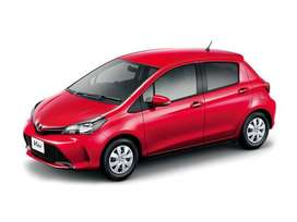 Toyota Vitz on Installments Model from 2010 to 2019