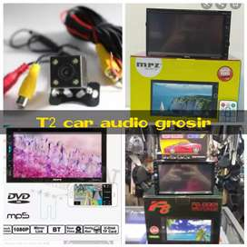 Terlaris dvd 2din android link led 7inc full hd+camera hd harga grosir