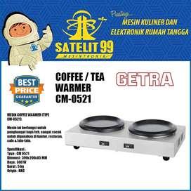 COFFEE/TEA WARMER GWTRA  (CM-0521+DECANTER)