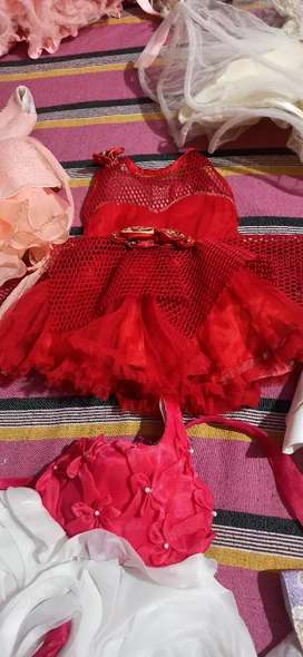 Girl's frocks only wore one's or twice
