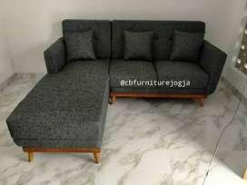 Sofa L sambung bisa custome