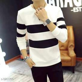 Sia Stylish Cotton Men's Striped T-Shirts Vol 2