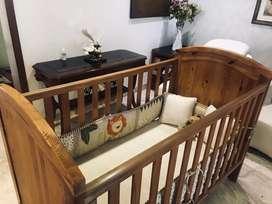 Royal Baby wooden crib