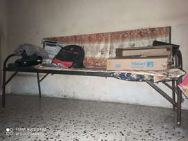 Steel bed iron