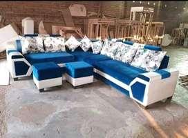 Newly Atractive corner sofa set direct factory sell