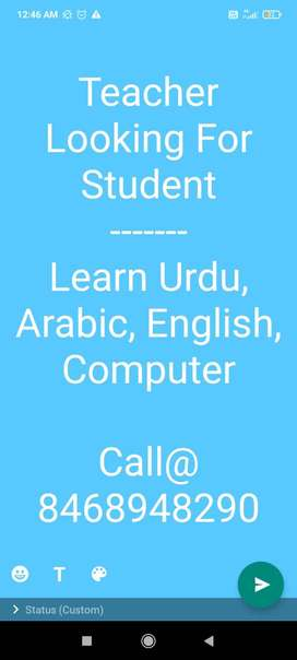 Looking For Student
