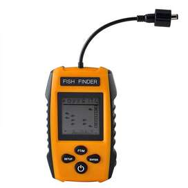 Detektor Pencari Ikan Portable Fish Finder 2.0 ich Display Yellow ID7