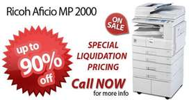 Ricoh MP 2000 Ricoh Photocopier & Hp Printers Available