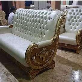 sofa tamu jati tua