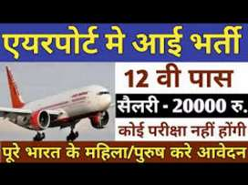 Urgent hiring for airport job vacancies all over India