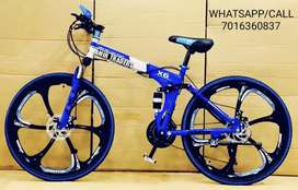 *NEW FOLDABLE BICYCLES 21 GEARS* *PRICE:12599Rs* Standard quality