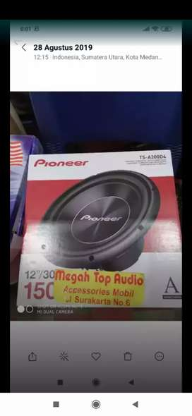 Sub woofer Pioneer A 300D4