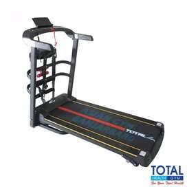 Ready treadmill elektrik TL 615 1,5hp 4 fungsi tampilan simple