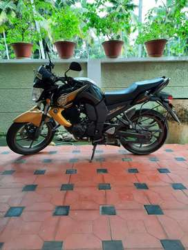 Yamaha FZ with New battery & tyre