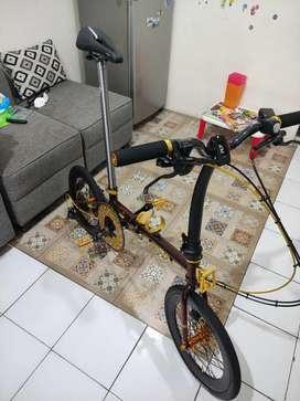 Sepeda lipat slk smith 16 349 x gust x troy