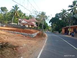 Powdikonam Main road Side plot