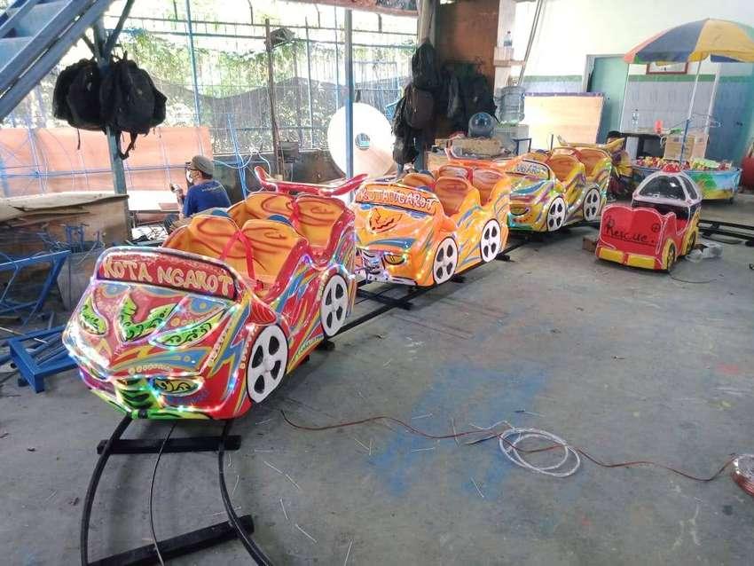 Mini roller coaster kereta rel bawah lantai odong terbaik 11 0