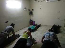 Rent for part time basis yoga n dance studio in Ashok vihar