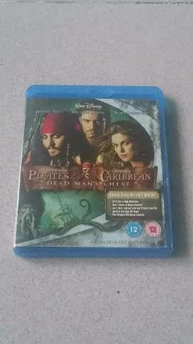 Bluray Pirates Caribbean Dead Man Chest.