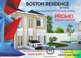 Bintaro, Rumah mewah super murah boston residence bintaro 6ytr