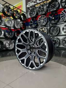Velg racing amw r20x9.0 h6x139.7 et15 on fortuner pajero