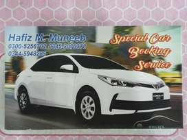 Special car booking service